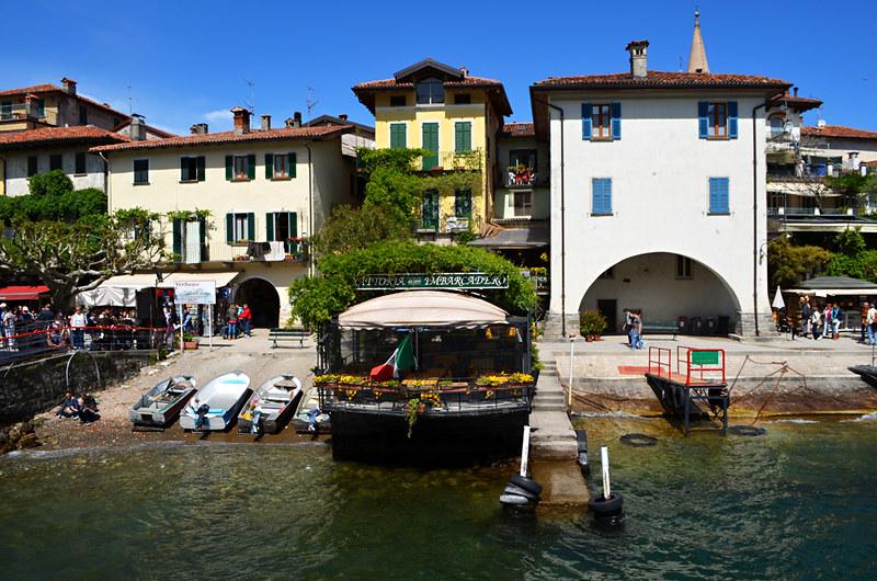 Jetty, Isola dei Pescatori, Lake Maggiore, Italy