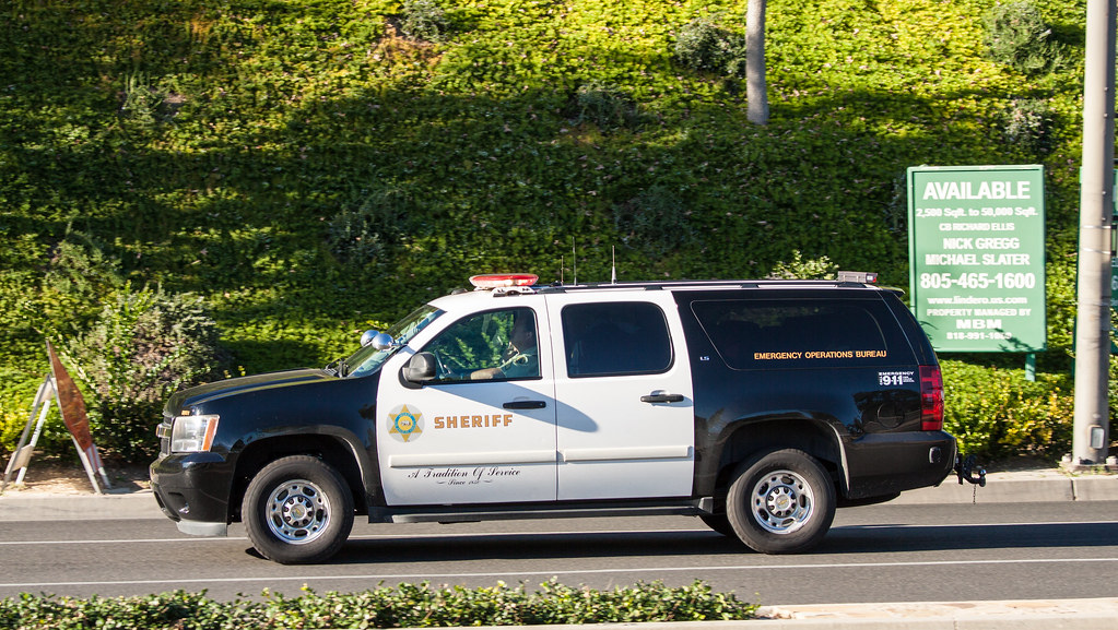 Los Angeles County, CA Sheriff Chevrolet Suburban