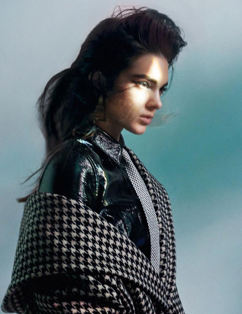 Кендалл Дженнер — Фотосессия для «Vogue» FR 2015 – 9