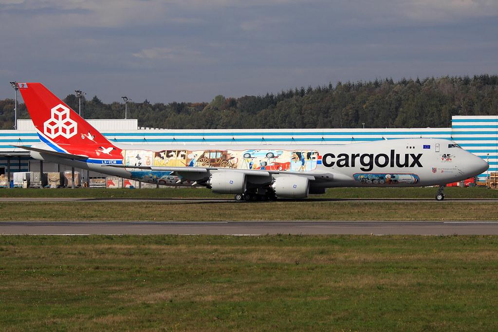 LX-VCM - B748 - Cargolux
