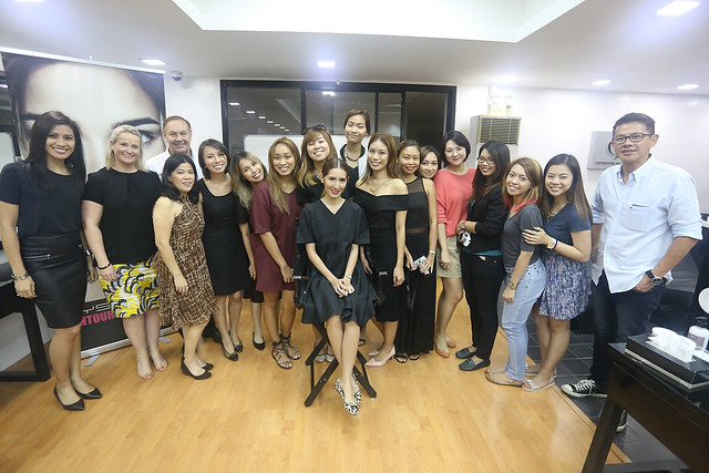 bys x glamourbox makeup workshop