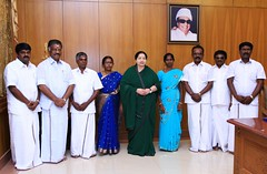 Andaman LB Election Victory AIADMK Cadres Blessings Hq release Photo (1) - 25th Sept 2015