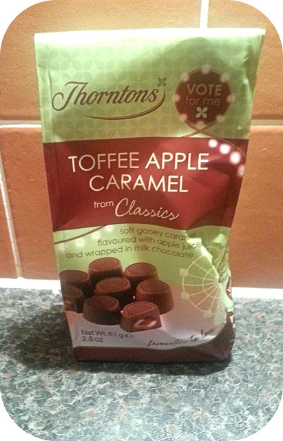 Thorntons Fairground Favourites Toffee Apple Caramel