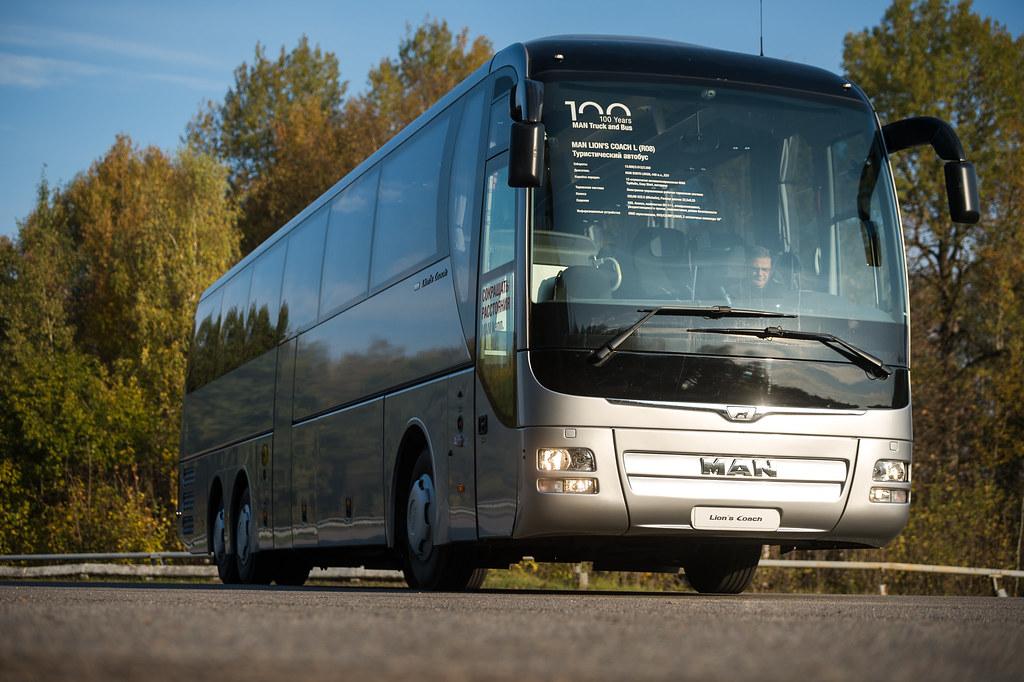 Туристический автобус MAN Lion's Coach R08