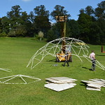 Making a dome in the park