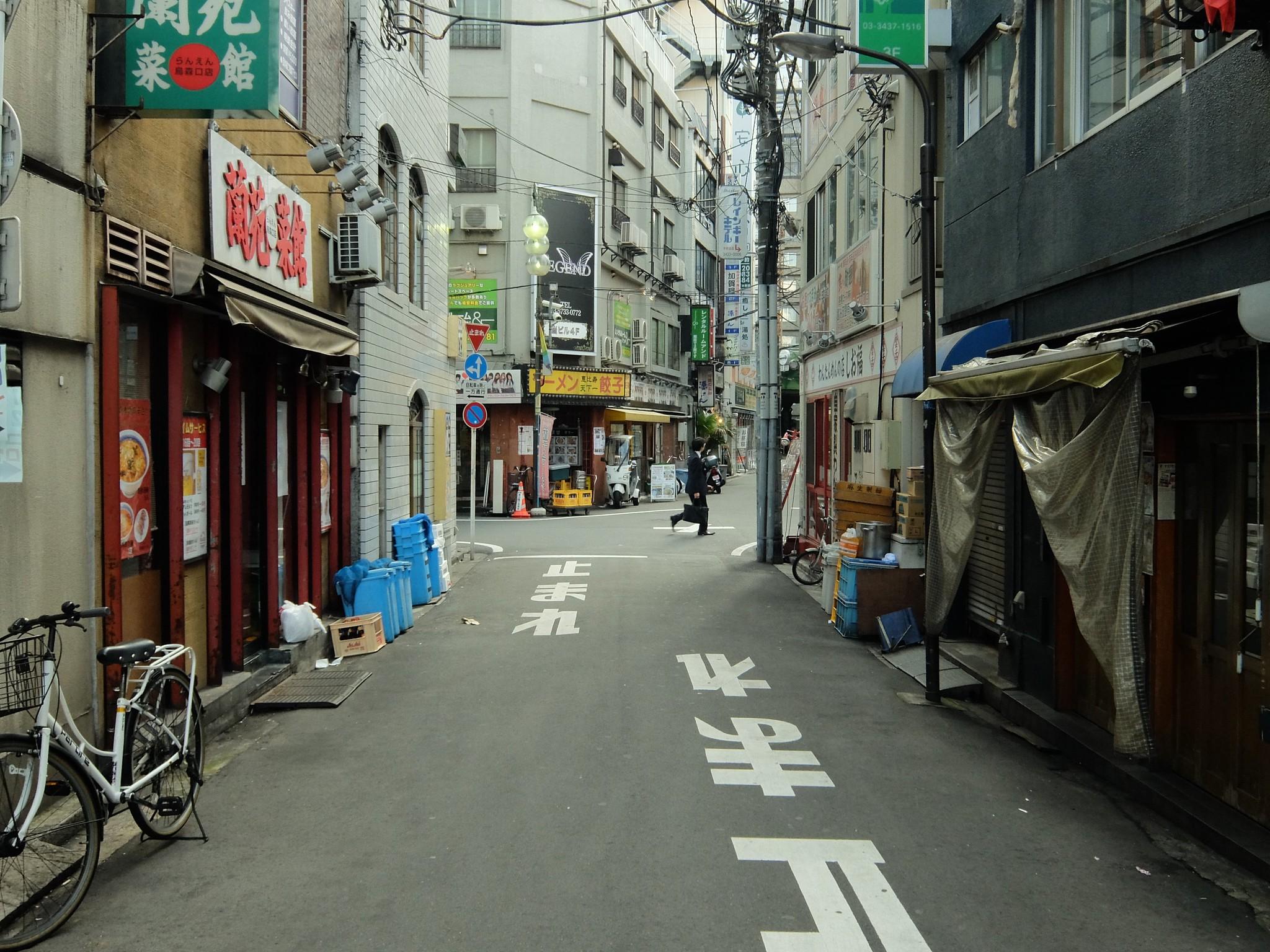 Shinbashi Tokyo, Japan