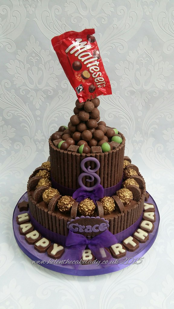 Chocolate Lovers Birthday Cake Made For My Daughters 8th