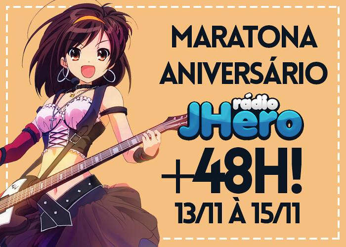 Maratona de Aniversário da J-Hero terá mais de 48h de pura diversão!