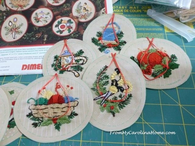 Stitching Ornaments Week 9 - 12