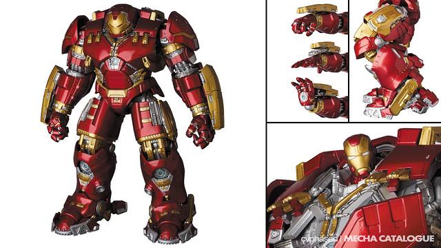"Medicom Toy - MAFEX Iron Man Mark 44 ""Hulkbuster"""