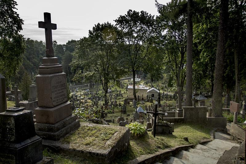 Cmentarz na Rossie #1 w Wilnie
