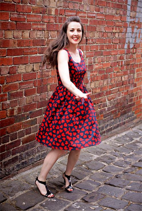 Red Heart Dress #2