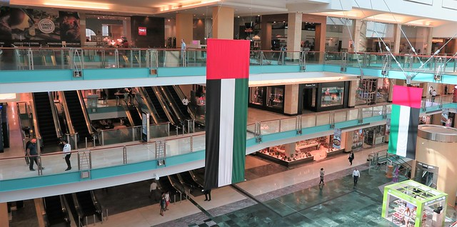inside abu dhabi mall