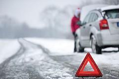 Zimní cesta autem do Alp nemusí být noční můrou