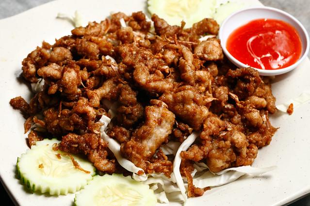 Salasabaii Garlic Fried Pork