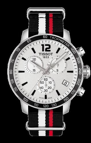 Tissot Quickster NATO Crono Reloj Hombre T095.417.17.037.01 1
