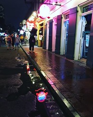 Lights on Bourbon Street