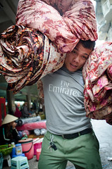Man Carrying Goods