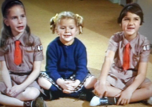 Family Affair TV Show 1967 Buffy wants to be a Brownie Scout.