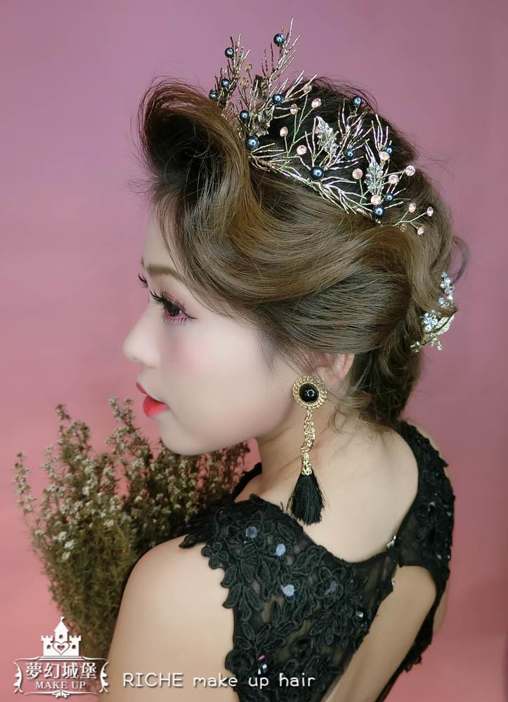 【新秘RICHE】新娘造型創作 / 歐風女王