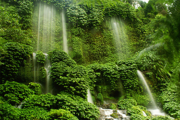 Benang Kelambu waterfall 1