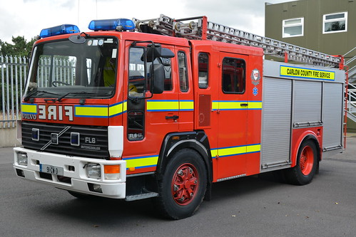 Carlow Fire & Rescue Service 1991 Volvo FL6 17 IDT WrL 91CW3
