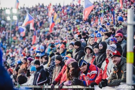 Výsledky a momentky ze stíhacího závodu biatlonistů z Nového Města na Moravě