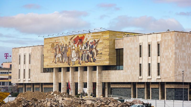 National Historical Museum - Tirana