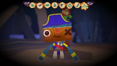 Tearaway Costume Competition Winner! (iota ingame)