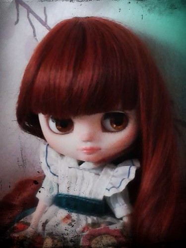 I just finished to custom my Middie Blythe Maccaron Q Tea!