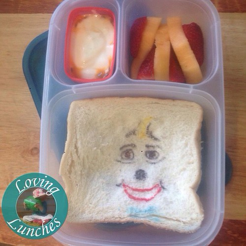 Loving a #greatmoscowcircus inspired @easylunchboxes for Miss M tomorrow… my #NinoTheClown needs some work! 😳 @rafaninojr