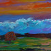 HighDesertSeirre24X48AcrylicCanvaswb by TrueViolet1