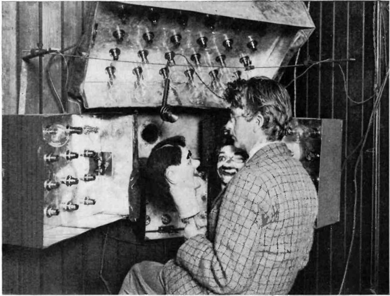 John Logie Baird first publicly demonstrates his television system