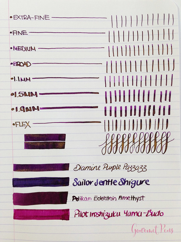 Ink Shot Review Diamine Purple Pazzazz (3)