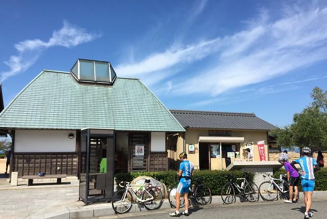 大阪城残石記念公園にて