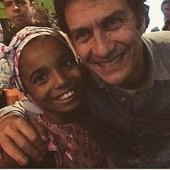 Julinha e o pai Luis Fernando: amizade além da ficção ! #BlogAuroradeCinemaregistra  #Babilônia #TVGlobo