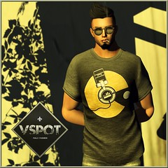 V-Spot for MOH6 - Sound-Man T-Shirt
