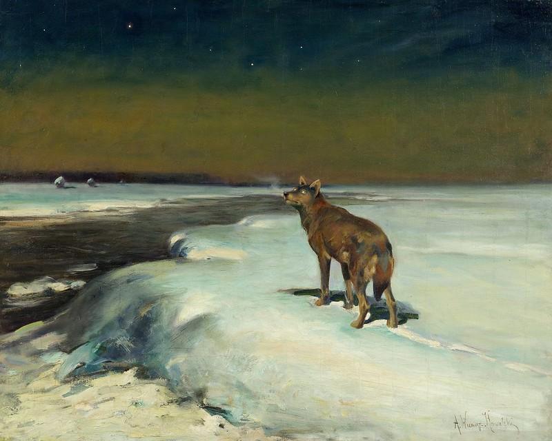 Alfred Wierusz-Kowalski - W lutym