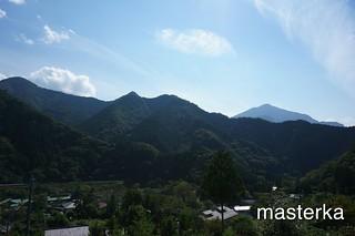芦ヶ久保ふるーガーデンからの景色