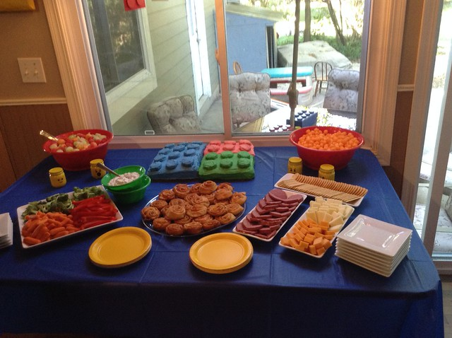 Lego Party Food