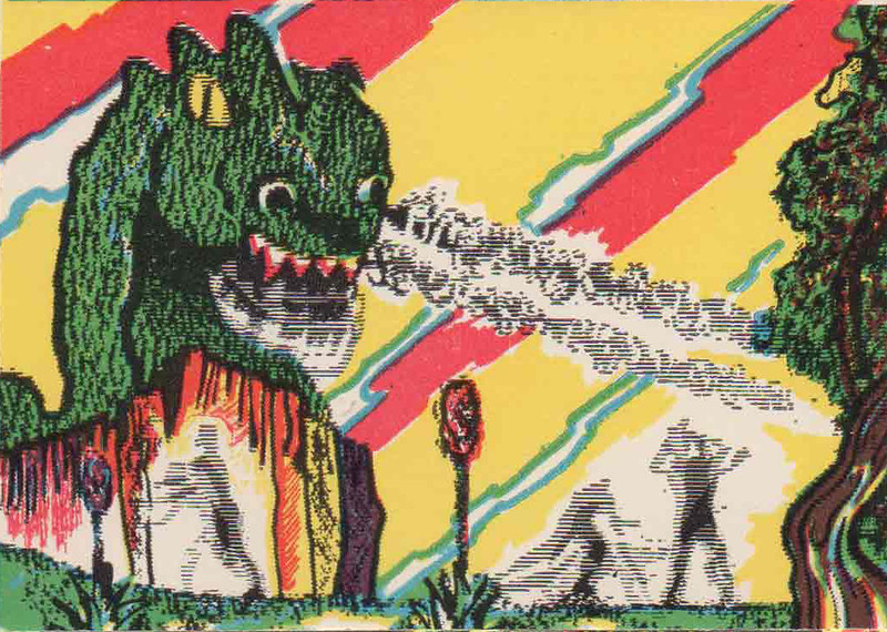 Monster Magic Action Trading Cards (1963) 21