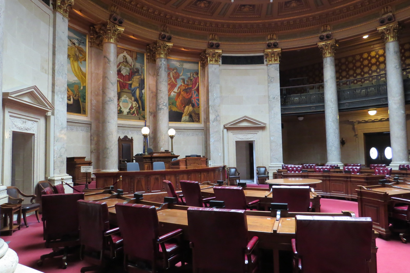 State Senate Chamber, Madison, WI