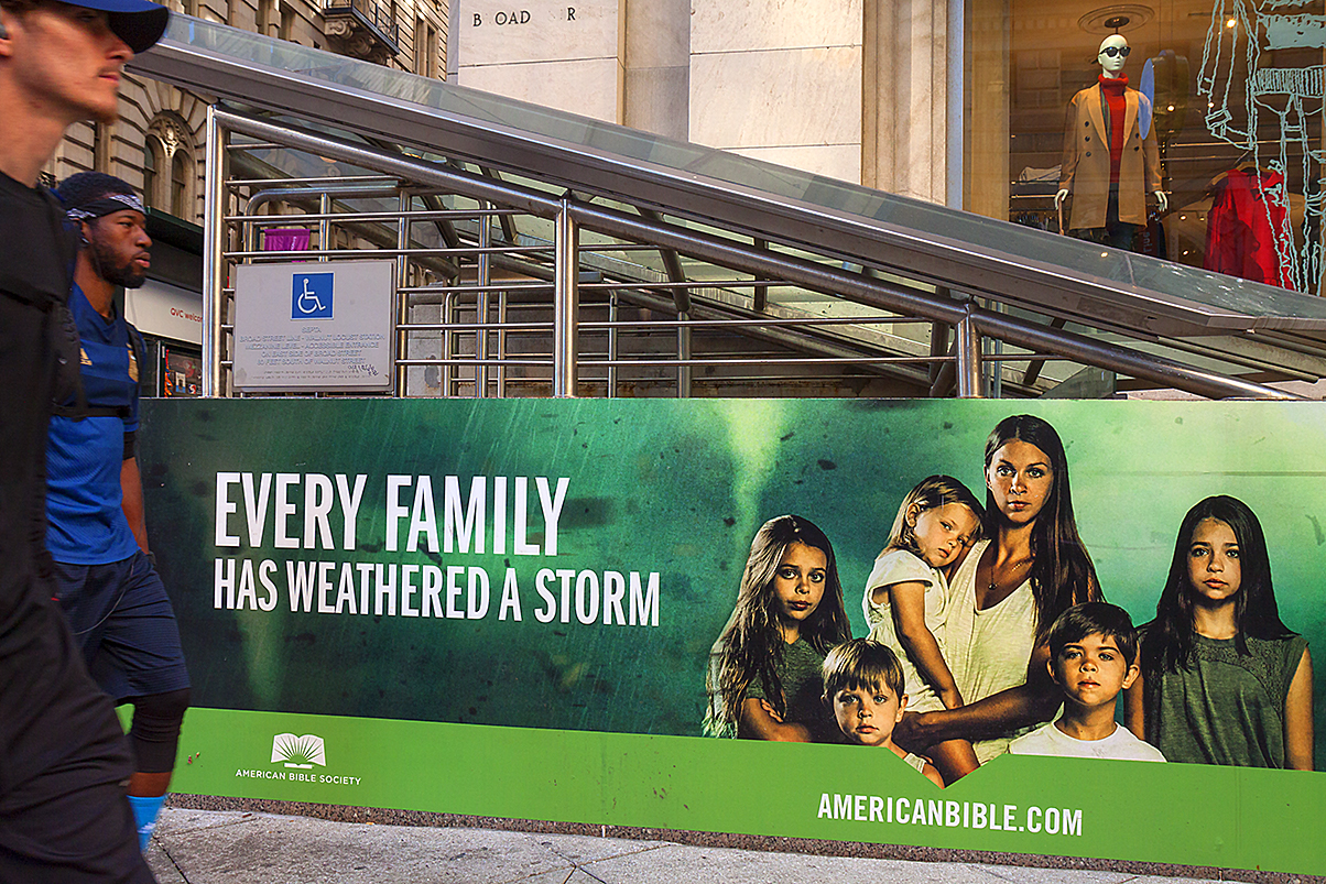 EVERY FAMILY HAS WEATHERED A STORM--Center City
