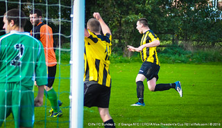 Cliffe FC Sunday 3 - 2 Grange AFC (Cup) 25Oct15