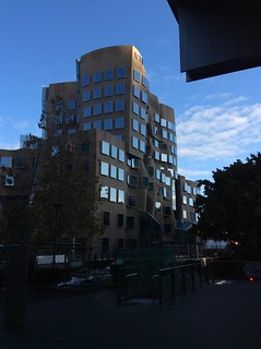 Dr Chau Chak Wing building. UTS Sydney designed by Frank Gehry