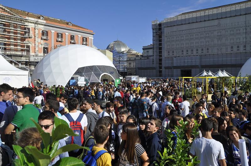 Oltre 130.000 visitatori alla 29 ° edizione di Futuro Remoto, per la prima volta in Piazza del Plebiscito