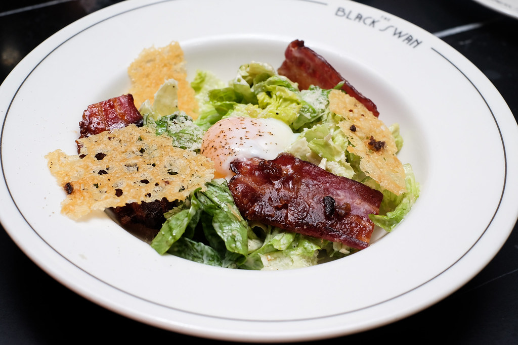 The Black Swan's Caesar salad