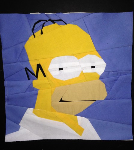 The Simpsons' Homer in 10x10