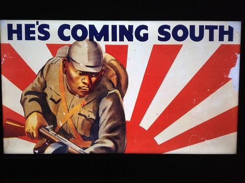 Japanese invading Australia