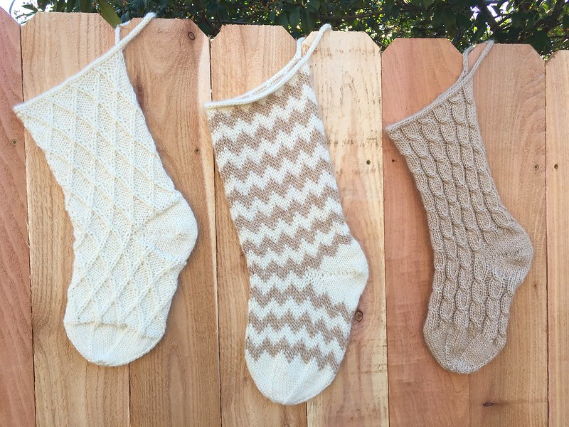 Simple Holiday Stockings